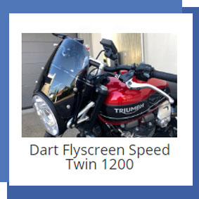Dart Flyscreen Speed Twin 1200