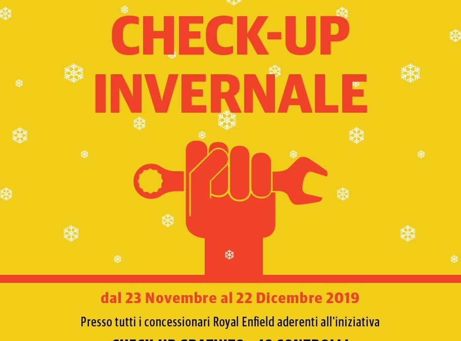 Campagna check-up invernale Royal Enfield
